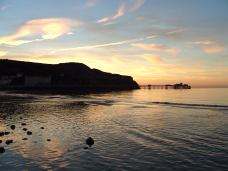 Orme and Llandudno bay after sunset, Sunday June 8th 2008