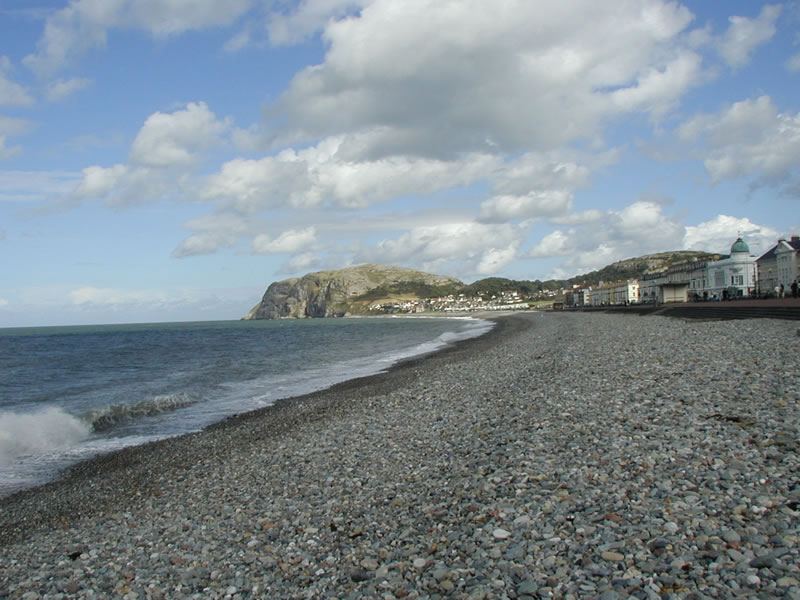 the little orme from north shore llandudno
